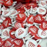 Kipas Plastik Promosi Kondom Tameng