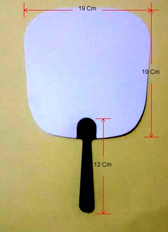 Kipas Plastik PP Atau Kipas Plastik PVC Polos