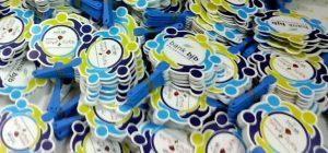Kipas plastik PVC promosi bank bjb pelabuhan ratu