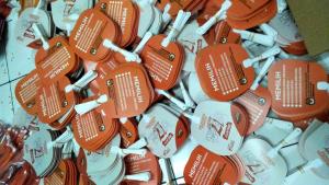 """Kipas Plastik Komisi Pemilihan Umum RI """"KPU RI"""" Pemilu Serentak 2019"""