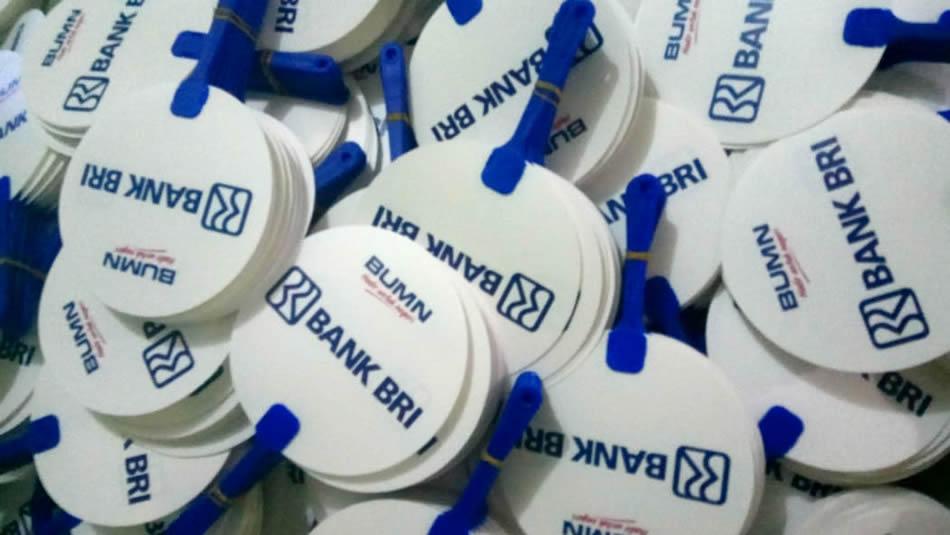 Kipas Plastik Promosi Bank BRI