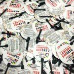 Kipas Plastik Promosi Lampung Bersatu Untuk Jokowi