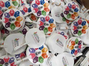 Kipas Plastik PVC Festival Konstitusi Anti Korupsi